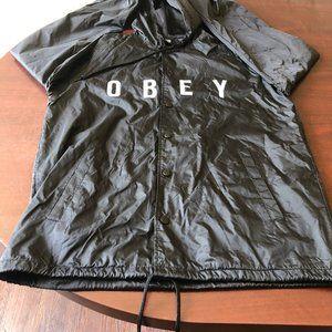 A293 Obey Hoodie Jacket Size M